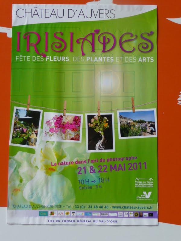 22 mai 2011 : LES IRISIADES à AUVERS SUR OISE