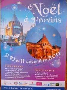 PROVINS : le marché médiéval de Noël