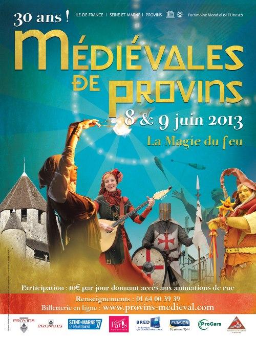 JUIN 2013 : MEDIEVALES DE PROVINS